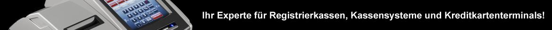 Ihr Experte für Registrierkassen, Kassensysteme und Kreditkartenterminals!